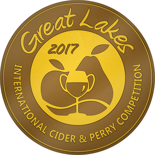 Gold Medal, 2017 Great Lakes International Cider & Perry Competition